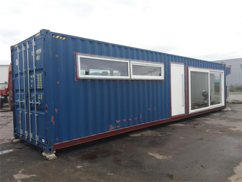 Auktion 238 wohncontainer container haus rockmann for Haus container