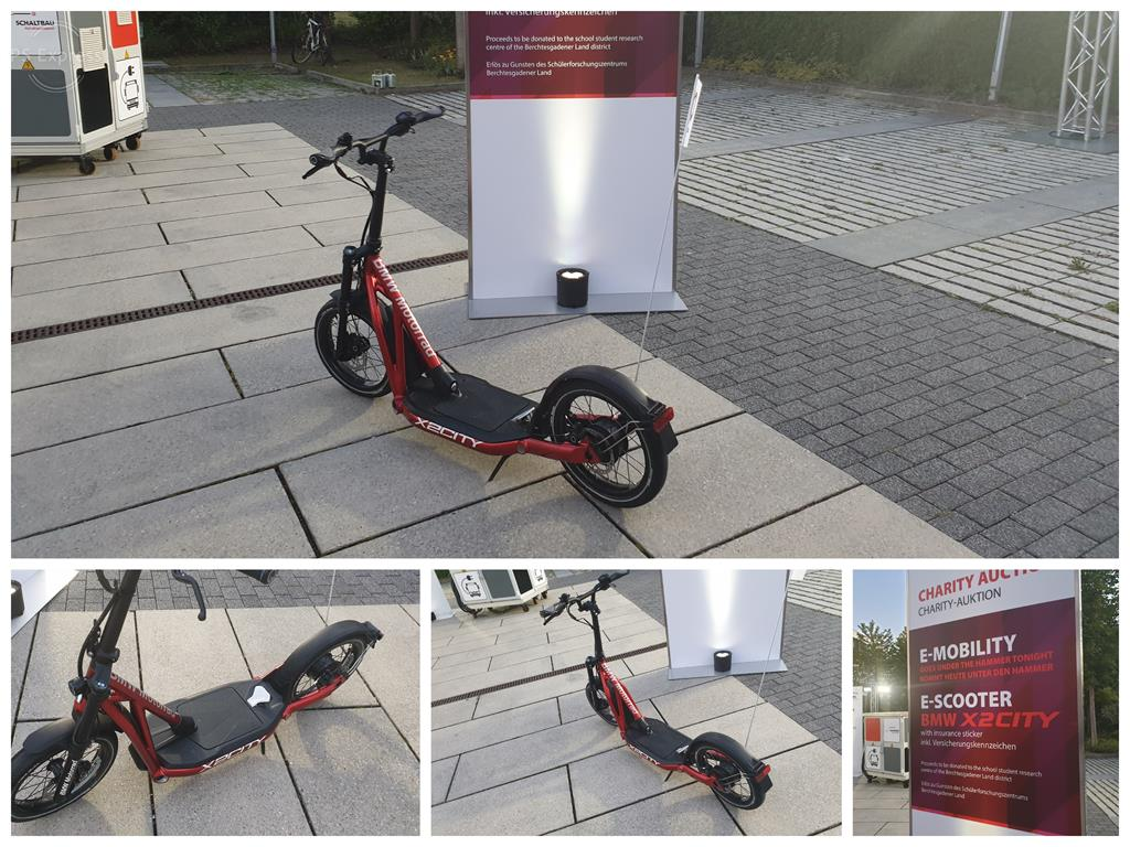 Charity Auktion  E-Scooter BMW X2City