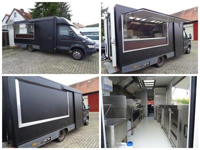 Foodtruck IVECO DAILY 50 C 11 G/P mit ERDGAS